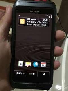 HP Nokia Murah E7 HP Only Hampir Tidak Pernah Dipakai