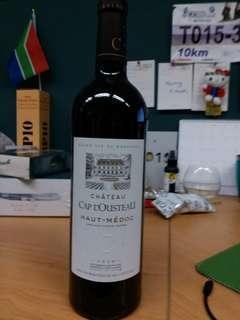 CX business bin red wine Chateau cap l'ousteau haut medoc 2010