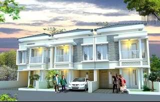 Dijual rumah minimalis desain modern dengan harga termurah dikelasnya dengan lokasi strategis Daerah Kalisari, Cijantung, JakartaTimur