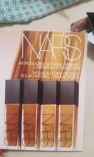 Nars radiant longwear samples