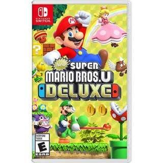 《徵收BUY》Switch Super Mario Bros U Deluxe