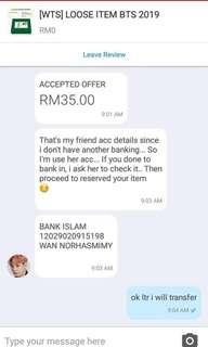 Seller that deal with ur own risk