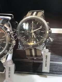 新款全新Seiko男裝手錶