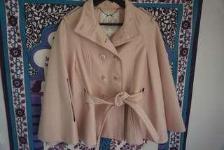 Forever New Light Pink Cape AU 6