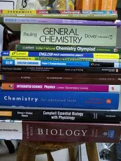 🚚 Science Chemistry Biology Physics Economics Assorted books