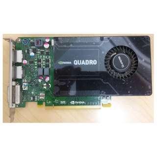 NVIDIA Quadro K2200 4GB GDDR5 Graphics card