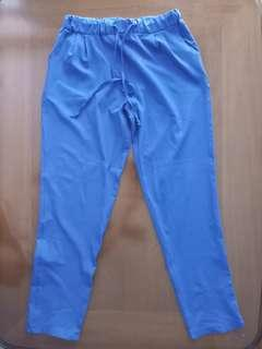 Blue lounge pants