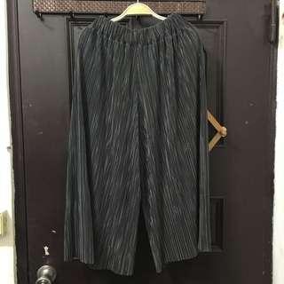 🚚 鐵灰寬褲