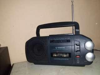 Vintage Thomson Tm 2000 portable radio cassette recorder made in france