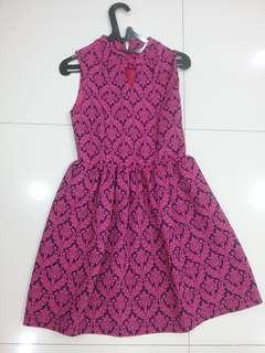 Pink fushia dress