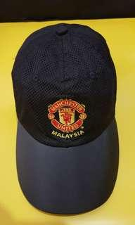 Manchester United Cap Vintage (classic antique Year 2001 Asia Tour Malaysia)
