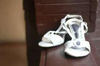 Silver Wedding Event Shoes