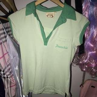 "VINTAGE ""FRENCHIES"" TOP"
