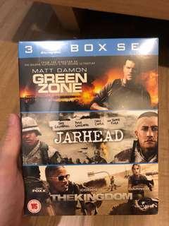 Green Zone / Jarhead / The Kingdom Blu-ray box set