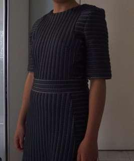 Zara mid length winter dress AU 6-8