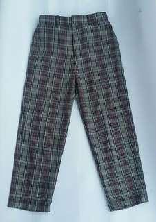Flanel Long Pants only 120k!! Bisa Custom!