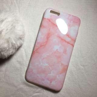 Pink marble case (Iphone 6 plus)