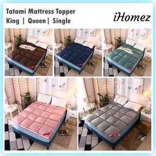 Tatami Bed Mattress Topper Protector Mat Alas Pelapik Tilam