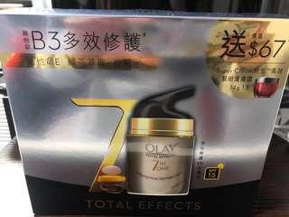 Olay total effect 7 in 1 多元修護UV 霜 加送 super cream