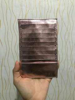 Card holder 12slot rosegold