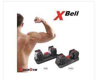 EnerGym X-Bell 極速調重可調式啞鈴 一對 Adjustable Weights Dumbbell (1 pair)