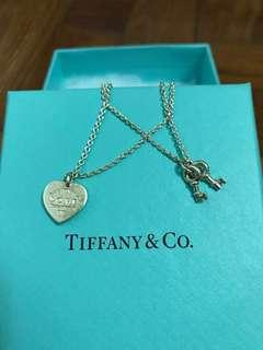 Tiffany & Co (Love Heart Tag Key Bracelet)