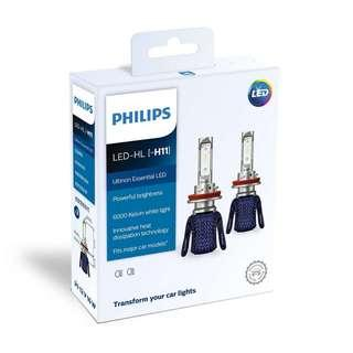 Philips Ultinon Essential LED Car Headlight Bulb H11
