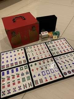 Tiger limited mahjong set