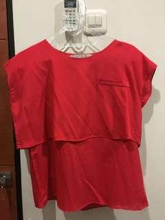 Red Layer Top