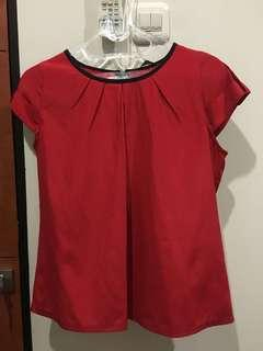 Red Simple Top