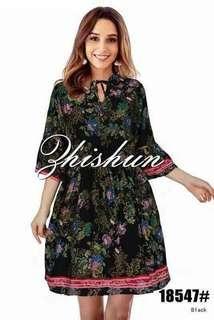 Fashion floral dress