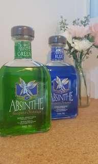 (70%/78%) Absinthe Green & Blue Fairy