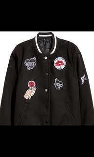 H&M ladies baseball jacket