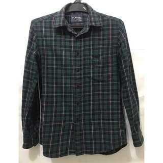 Kemeja Flannel Uniqlo not Dickies Bape Carhartt Vans Supreme