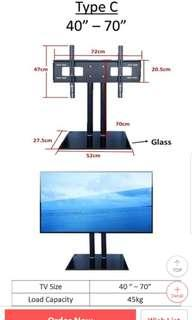 40-70inch mount TV stand for tv console