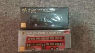 Tiny tow truck and KMB Volvo 全新會員限定
