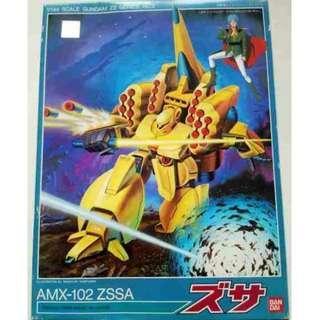 請看推廣優惠 可變戰機 全新未砌 Bandai HG 1/144 瑞沙 ZSSA Zeta Z AMX-102 High Grade Gundam 高達模型 3