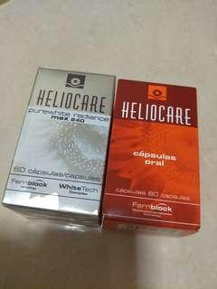 Heliocare oral capsules sun protection