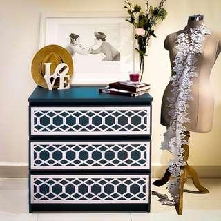 Hex MALM Furniture Kits Overlay Panels