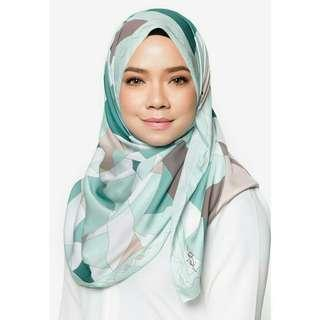 (Incl. 📮) Owl by Nora Danish Love-Me-Not Silk Shawl