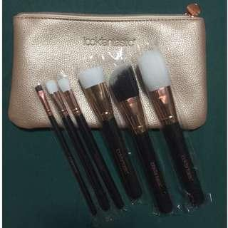 Brand new 6-piece synthetic brush set