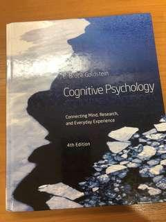 Cognitive Psychology by E. Bruce Goldstein (4th ed.)