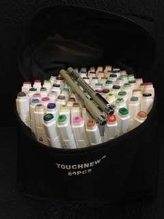 TOUCH 80色 marker 馬克筆 麥克筆 送針筆2支