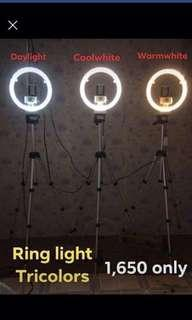 Ring light with stand for sale
