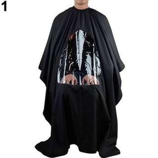Kain Kap Kain Kep Kain Penutup Salon Kain Potong Rambut Pangkas Rambut Kain kap Transparan depan