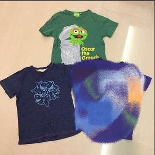 Preloved Sesame Street Boys T-shirt Tee Tshirt 5 years up