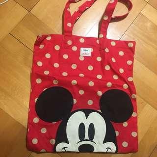 Disney x Cath Kidston Micky Mouse Tote Bag