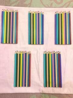 Pensil Warna Kayu
