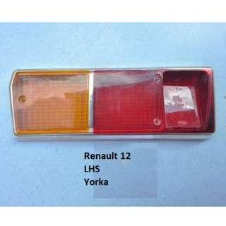 Renault R12 rear light lense