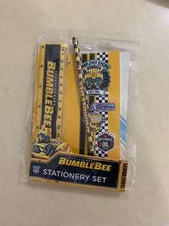 Bumblebee 4pcs stationary set